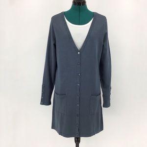 Yest Yaella Thigh Length Cardigan with Pockets, 10